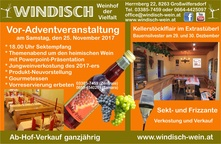 Adventzeit am Weinhof Windisch
