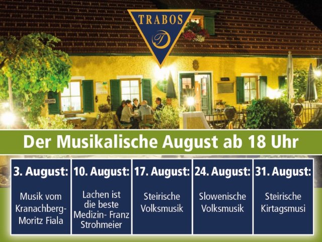 Musikalischer August am Weingut Trabos